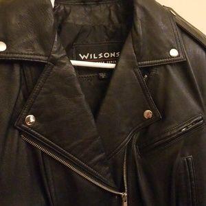 Jackets & Coats - Leather Motorcycle Jacket